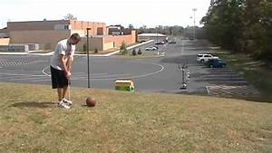 Golf Basketball Shot #2 - YouTube