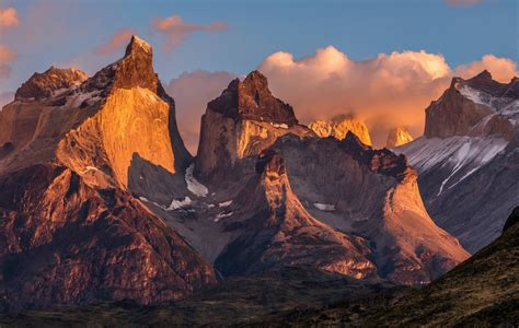 south america chile patagonia national park torres del