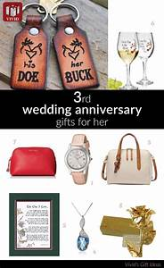 best gifts to get for wife on 3rd anniversary vivid39s With traditional gift for 3rd wedding anniversary