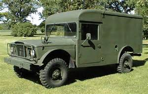 Military Kaiser Jeep Ambulance