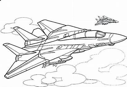Plane Draw Airplane Coloring Jet Jumble Inspirations