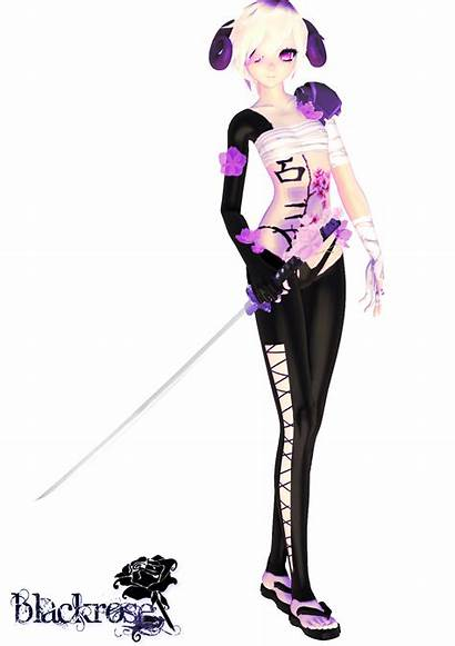Mmd Oc Blade Moon Finished Anime 3d