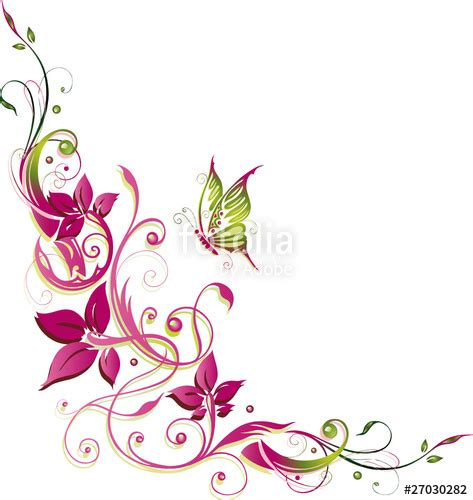 ranken bloemen bilder blumenranken blumenranken ausmalbilder