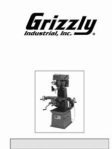Grizzly Drill G1004 User Guide