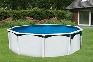 Piscine Hors Sol Plastique : piscine acier hors sol trigano diam 4 95m et 1 32m de haut ~ Premium-room.com Idées de Décoration