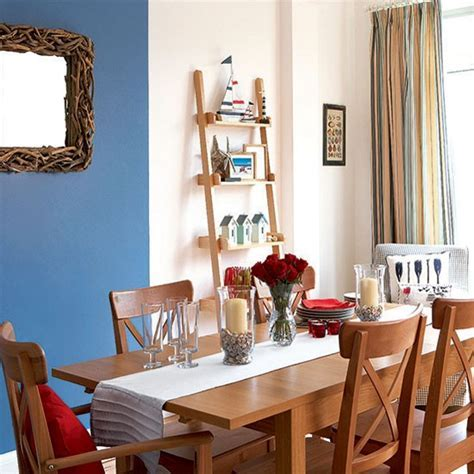 Bright nautical dining room   Dining room   housetohome.co.uk