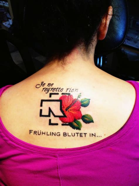 amazing rammstein fan tattoos nsf  magazine