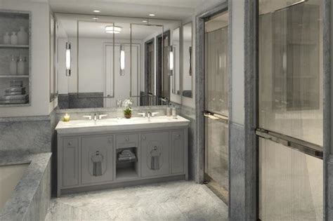 gray master bathroom ideas gray master bathroom contemporary bathroom corcoran Gray Master Bathroom Ideas