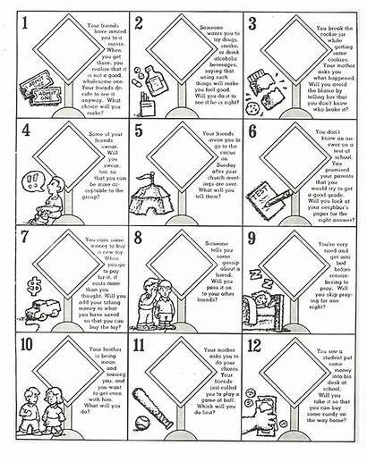 Primary Lesson Lds Activity Games Printable Paste