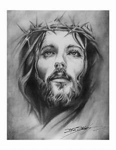 religious-art-print-jesus-crown-of-thorns-steve- | tommy ...