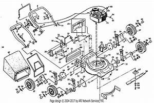 Poulan Pp835 Mower Parts Diagram For Mower Assembly