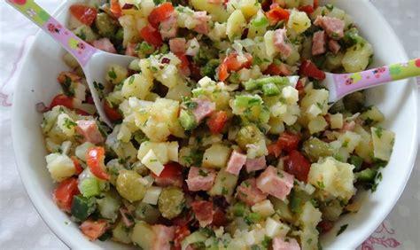 recette de cuisine mexicaine salade de pommes de terre à l 39 italienne recette az