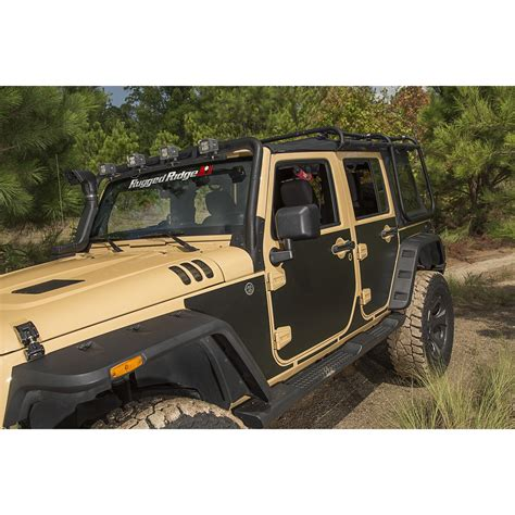 Trail Armor Door Template by Rugged Ridge 12300 53 Magenetic Body Protection Panel