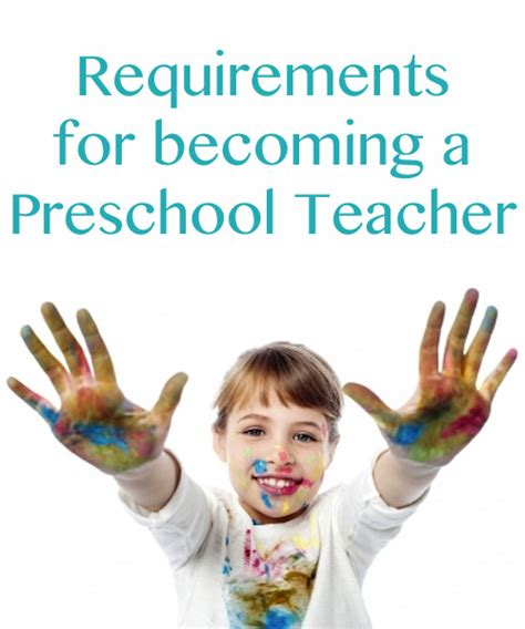 preschool requirements 615 | preschool teacher requirements