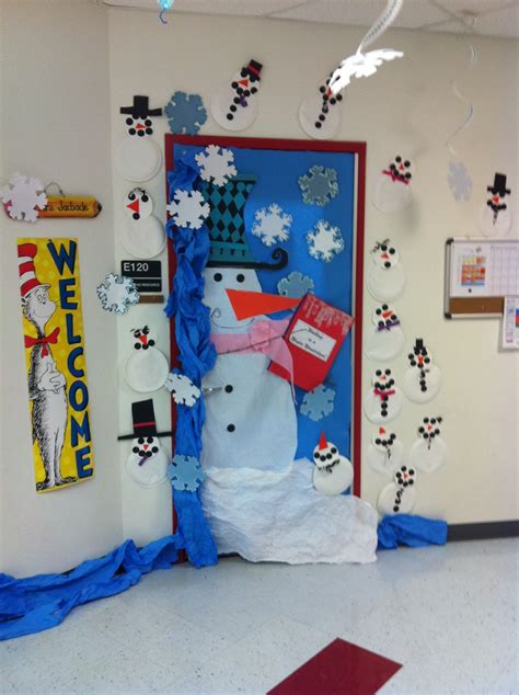 100 christmas classroom door decorations ideas 8