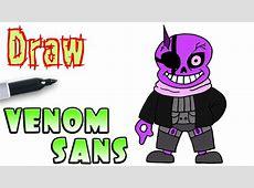 How to Draw Venom Sans Undertale YouTube