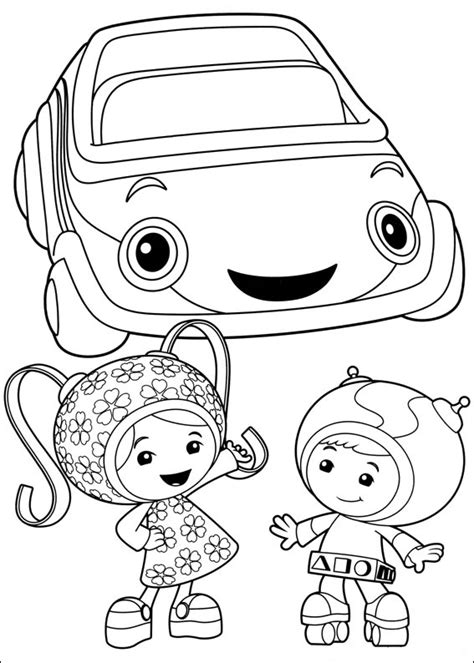 Coloring Umizoomi by Team Umizoomi Coloring Pages Best Coloring Pages For