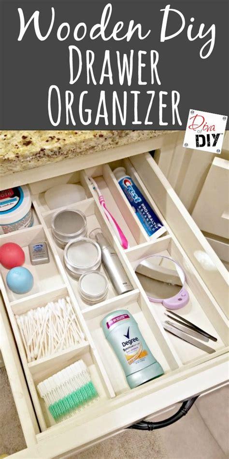 Diy Kitchen Drawer Organizer by Get Organized With This Wooden Diy Drawer Organizer