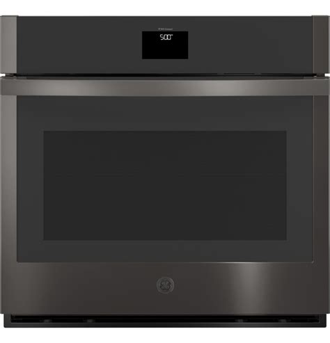 general electric jtsbnts ger  built  convection single wall oven black stainless steel