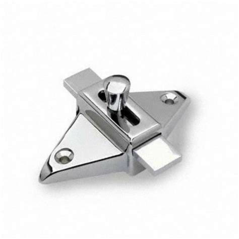 toilet partition hardware sliding latch strike outswing