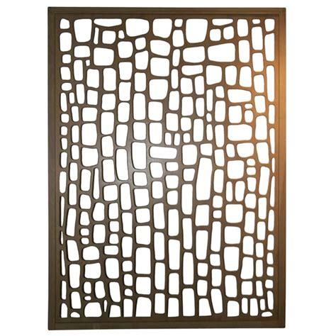 Brutalist Dresser by Modernist Room Divider Wall Sculpture At 1stdibs