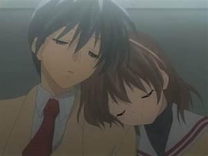 clannad nagisa and tomoya kiss MEMEs