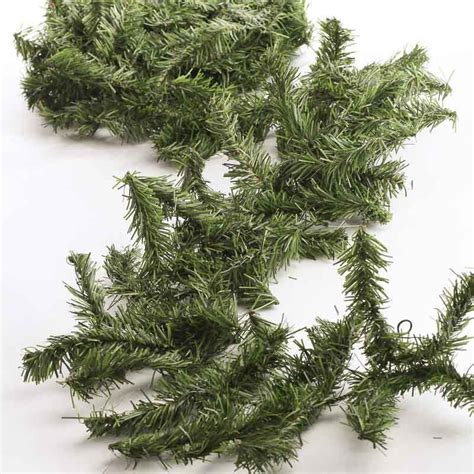 artificial canadian pine garland christmas garlands christmas and winter holiday crafts