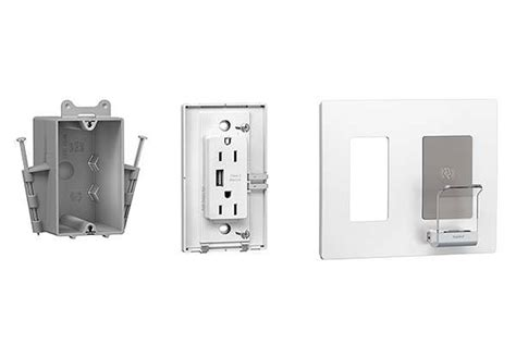 Legrand Radiant Wall Outlet Plate with USB and Wireless