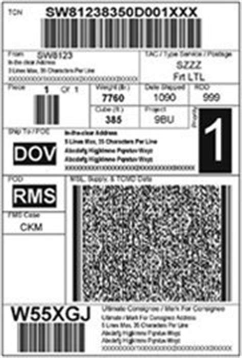 100706 - Large Integrated Shipping Labels