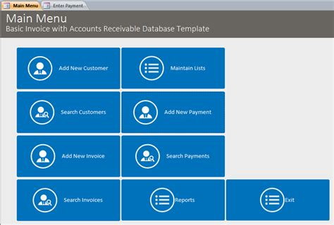 basic business invoicing  accounts receivable template