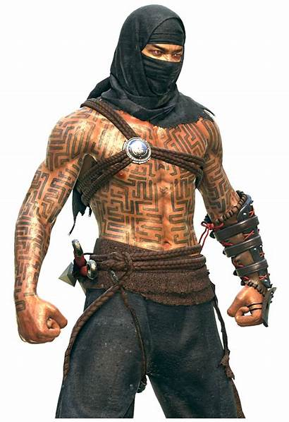 Male Fighter Within Fantasy Human Assassin Monk