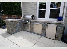 Metal Outdoor Kitchen Kitchen Decor Design Ideas