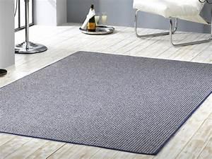 Teppich Blau Weiß : robuster design kurzflor teppich skandi blau weiss ~ Whattoseeinmadrid.com Haus und Dekorationen