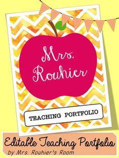 teaching portfolio template editable teaching portfolio template multicolor teaching portfolio portfolio and