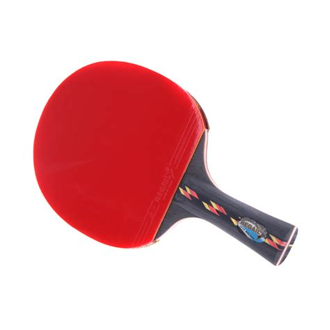 best chinese table tennis rubber best quality wood bat handle table tennis rackets red