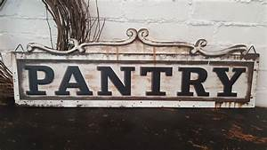 This, Metal, Pantry, Sign, Will, Look, Great, In, Any, Space, Add, Character, To, Your, Walls, The, Vintage