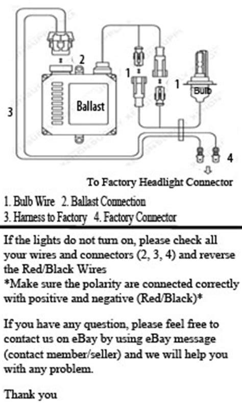 xentec hid xenon conversion kit all bulb sizes and colors premium slim ballasts ebay