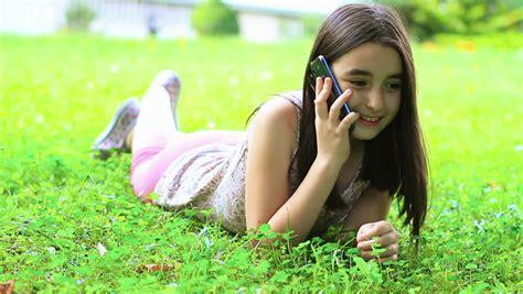 Talking On Phone Stock Footage Video Shutterstock