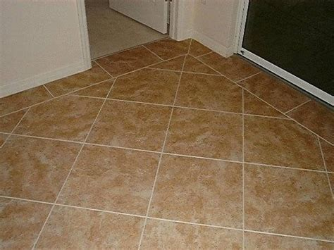 laying tile floor how to lay tiles diagonally ehow