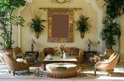 Mediterranean Home Decor Ideas With Cream Wall Paint Ideas