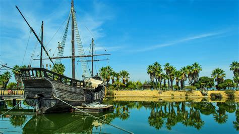 Barcos De Cristobal Colon Huelva by Una Ruta Por La Huelva De Crist 243 Bal Col 243 N Espana