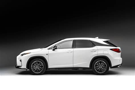 lexus rx 2016 2016 lexus rx 350 f sport and rx 450h show up in nyc