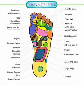 Pressure Points In Your Feet – Chart And Videos