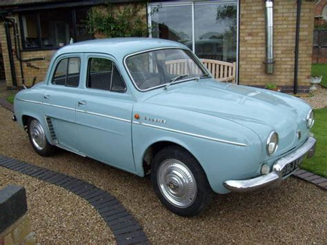 renault dauphine gordini 1964 renault dauphine gordini sold car and classic
