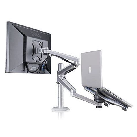 computer monitor arms desk mount adjustable aluminium universal laptop notebook computer