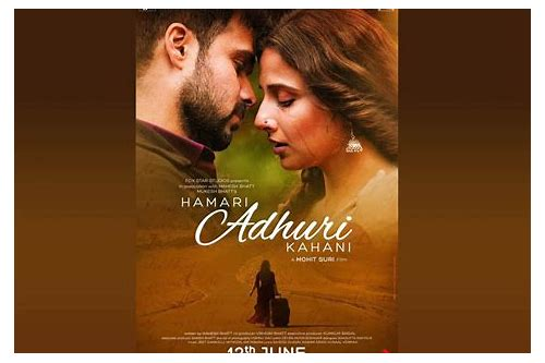 hamari adhuri kahani video download hd