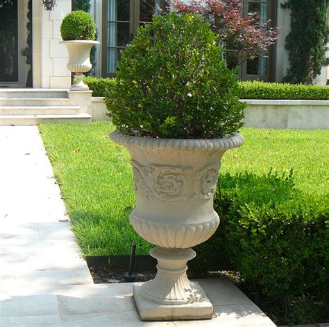 Outdoor Vases And Urns by Classic Estate Urn Planters Cast Urns