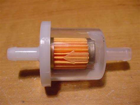 Clear Inline Fuel Filter by Harley Motorcycle Clear Inline Gas Carburetor Fuel Filter