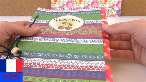 faire livre de cuisine fabriquer un livre de recettes pratique cahier avec