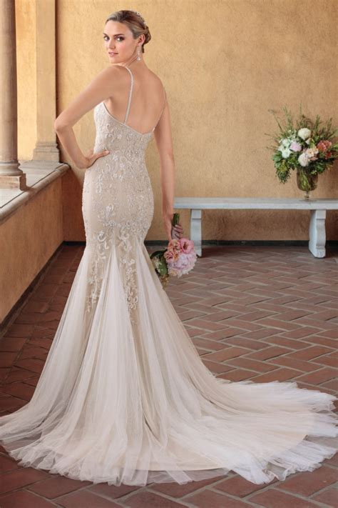 elegantly classic casablanca wedding dresses villa del sol